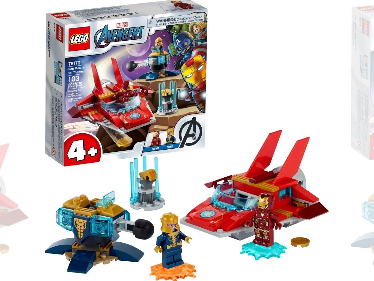 LEGO Marvel Avengers Iron Man vs. Thanos Collectible Toy