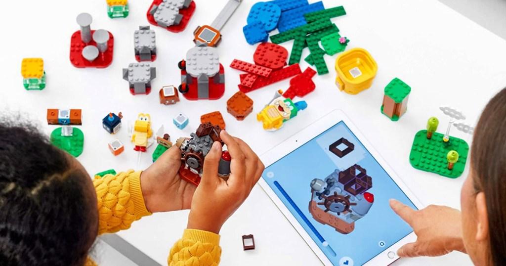 LEGO Super Mario Master Your Adventure Maker Set 366-Piece Building Kit