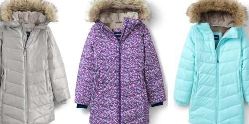 Lands' End Kids Down Alternative Coats Just $41.98 (Regularly $150)