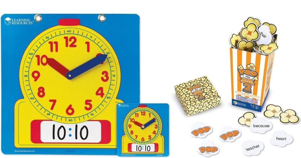 Learning Resources Clock and Game