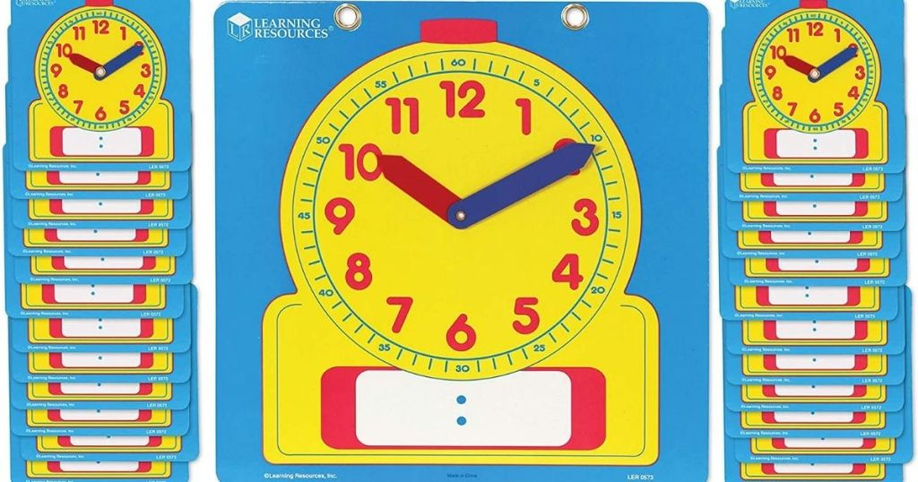 Learning Resources Clocks
