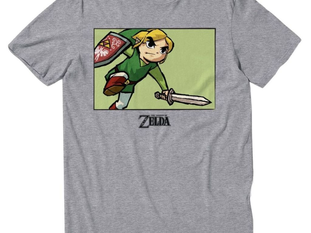 legend of zelda t shirt gamestop