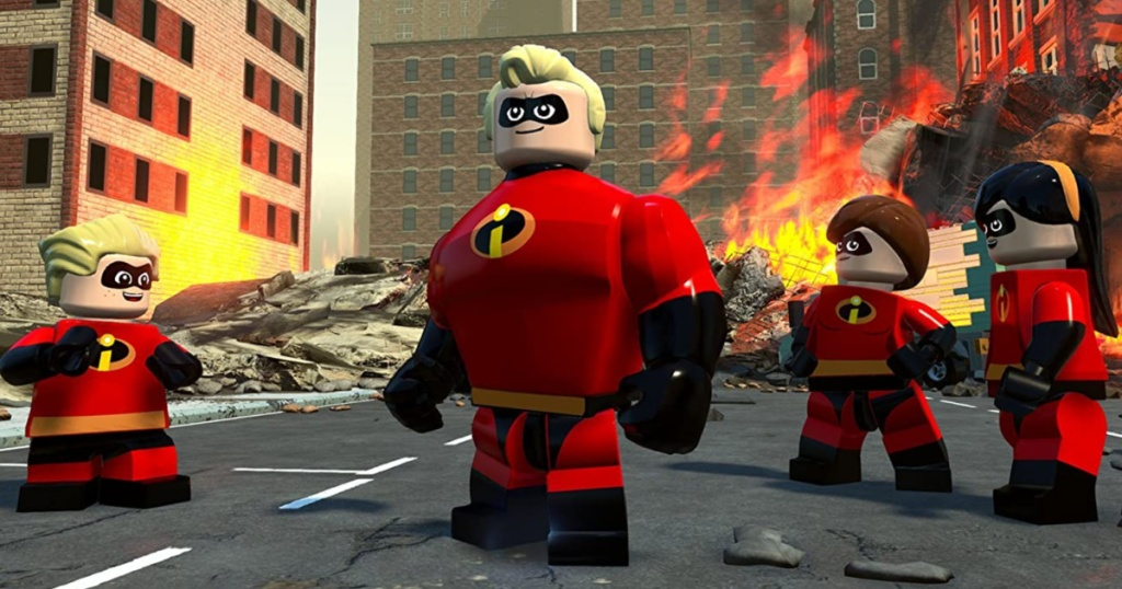 lego incredibles characters