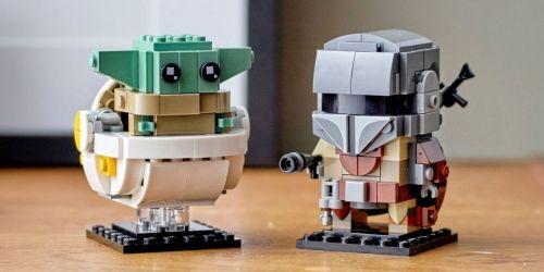 LEGO BrickHeadz Star Wars The Mandalorian & Child Set Only $13.99 on Amazon (Regularly $20)