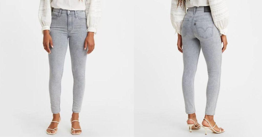 two women wearing Levi's jeans