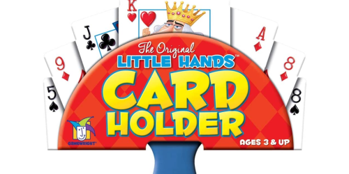 Gamewright Little Hands Playing Card Holder Just $1.49 on Amazon or Walmart.com (Regularly $7)
