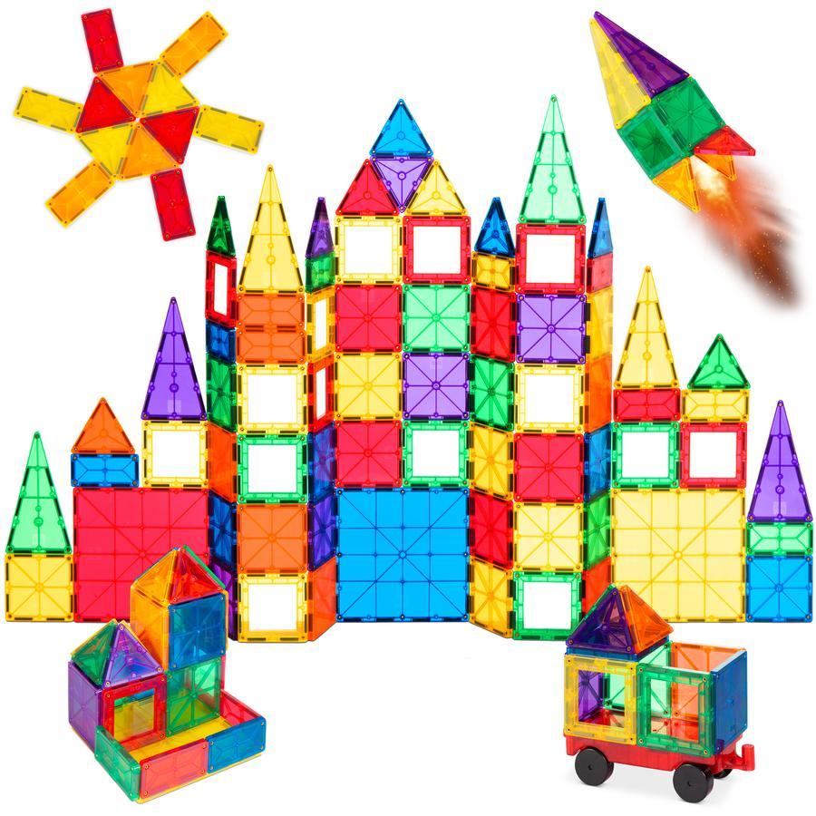 Magnetic Tiles block set