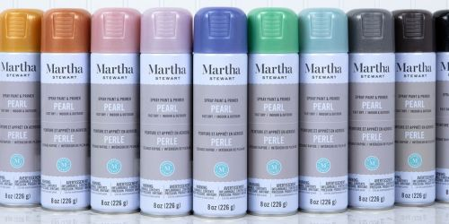 Martha Stewart Spray Paint & Primers Only $4.99 Shipped