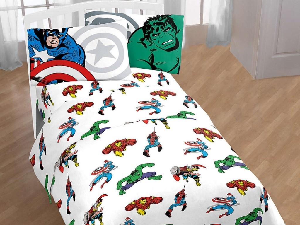 Marvel Marvel Comics Comic Cool Twin Sheet Set