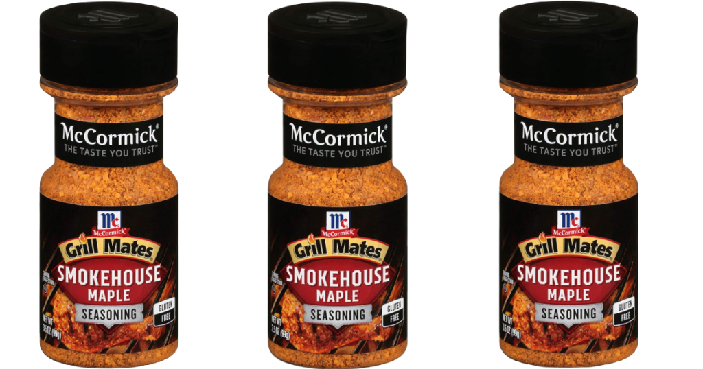 McCormick Smokehouse Maple Seasonings