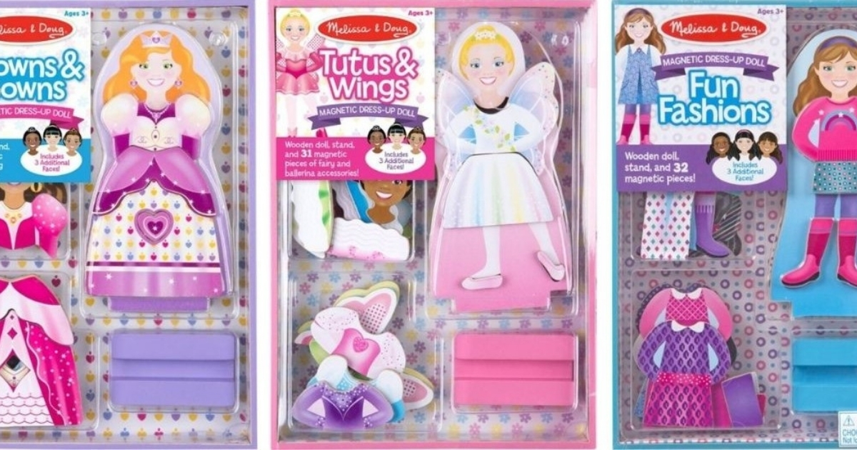 magnetic dolls sets from melissa and doug