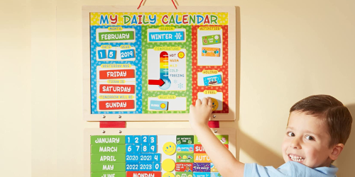 Melissa & Doug Magnetic Calendar Only $6.99 On Zulily (Regularly $24)