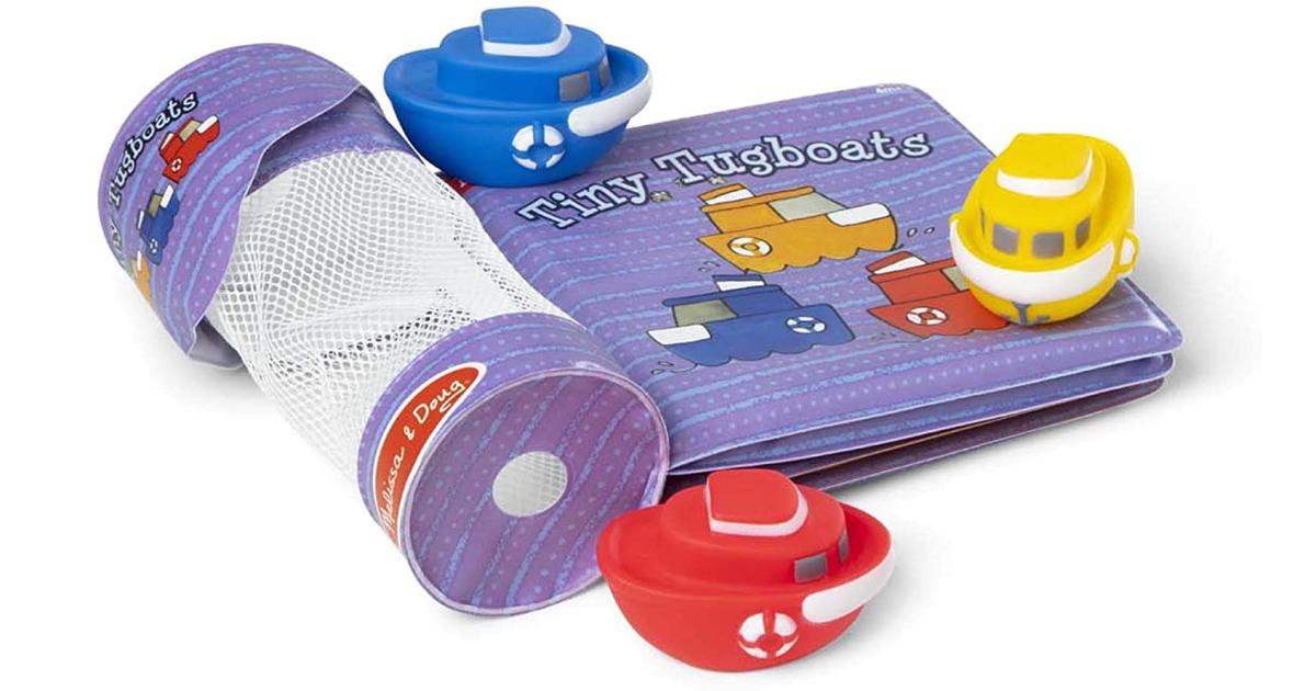 Melissa Doug Tiny Tugboats Book
