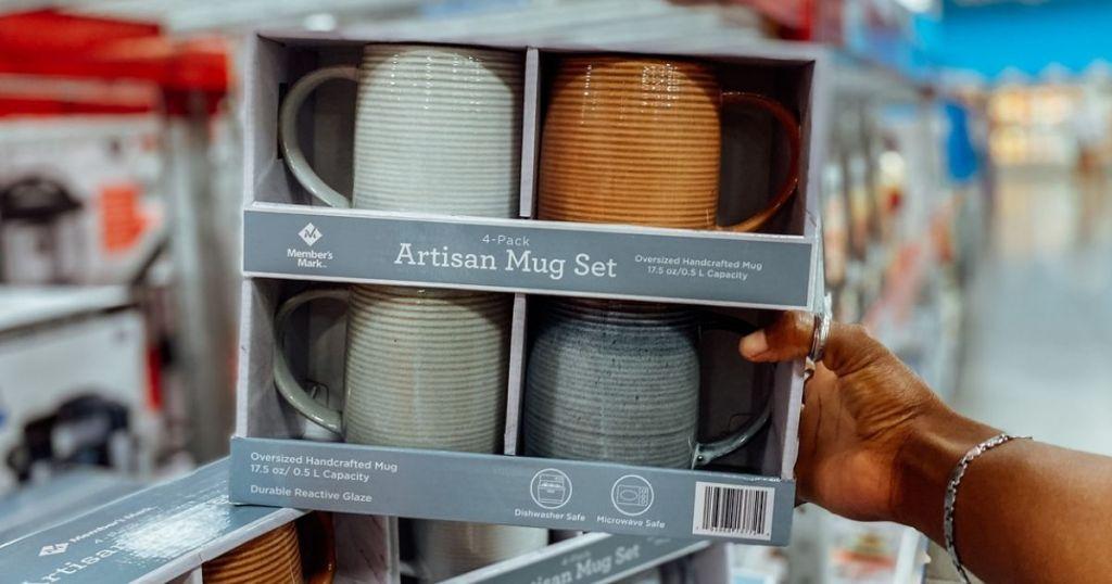 Member's Mark Artisan Mug Set