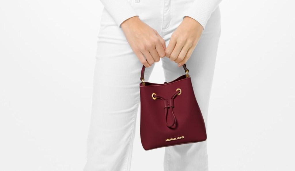Michael Kors Suri Small Saffiano Leather Crossbody Bag