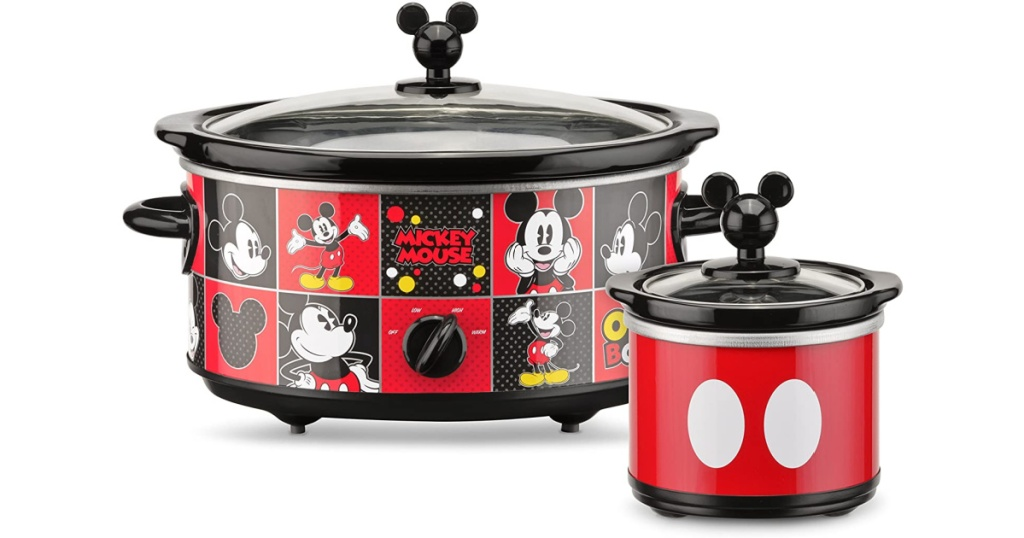 Mickey Mouse Slow Cooker & Dipper
