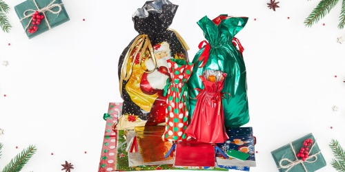 Holiday Gift Bag 56-Piece Set Only $14.79 on Zulily.com (Regularly $28)   Includes Jumbo Bags, Gift Tags, & More