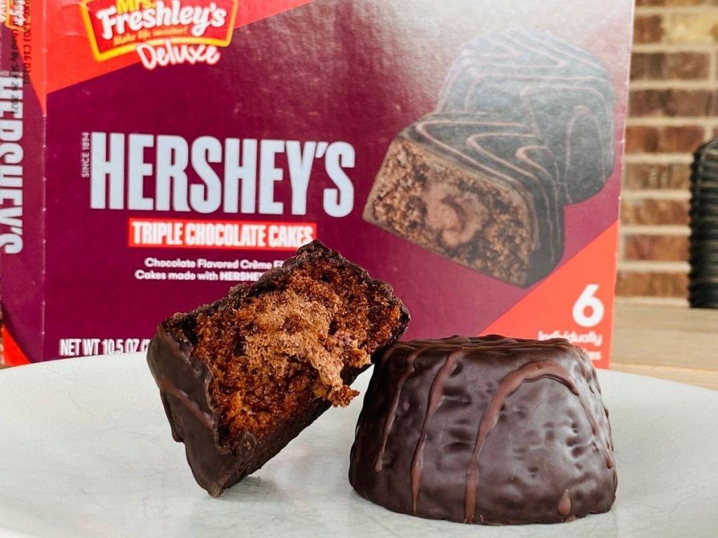 Mrs Freshley's Hershey's Cupcakes