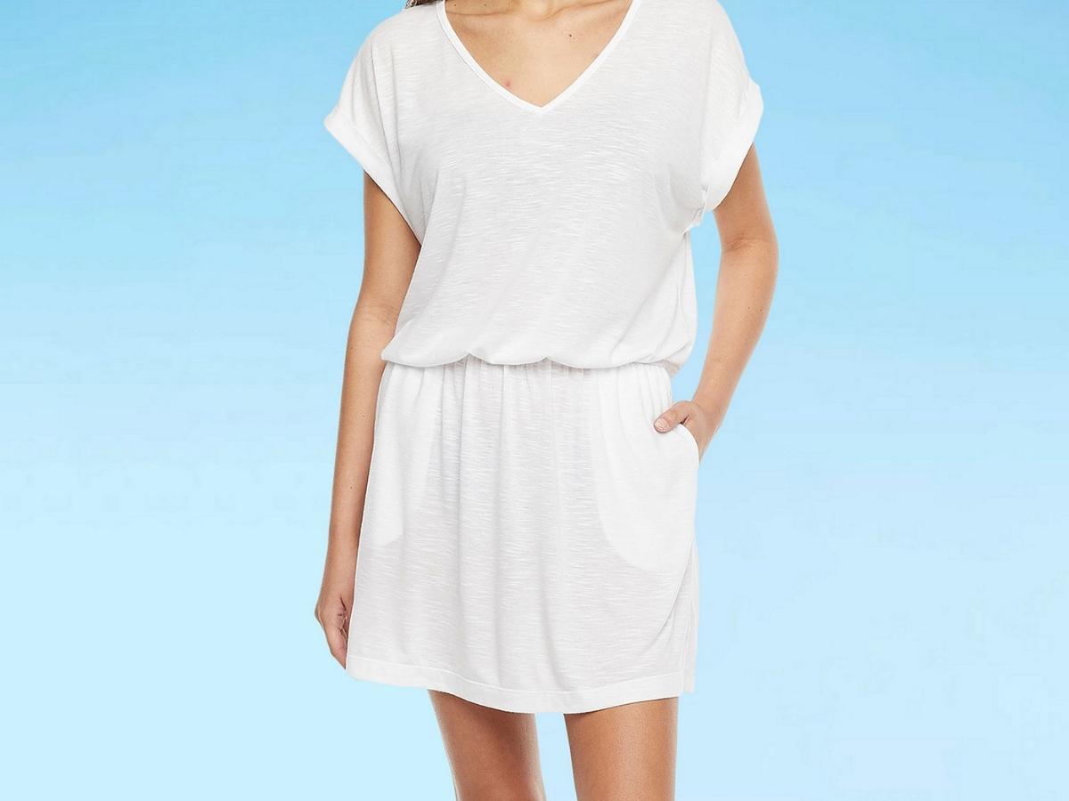 Mynah Women's Dress Swimsuit Cover-Up
