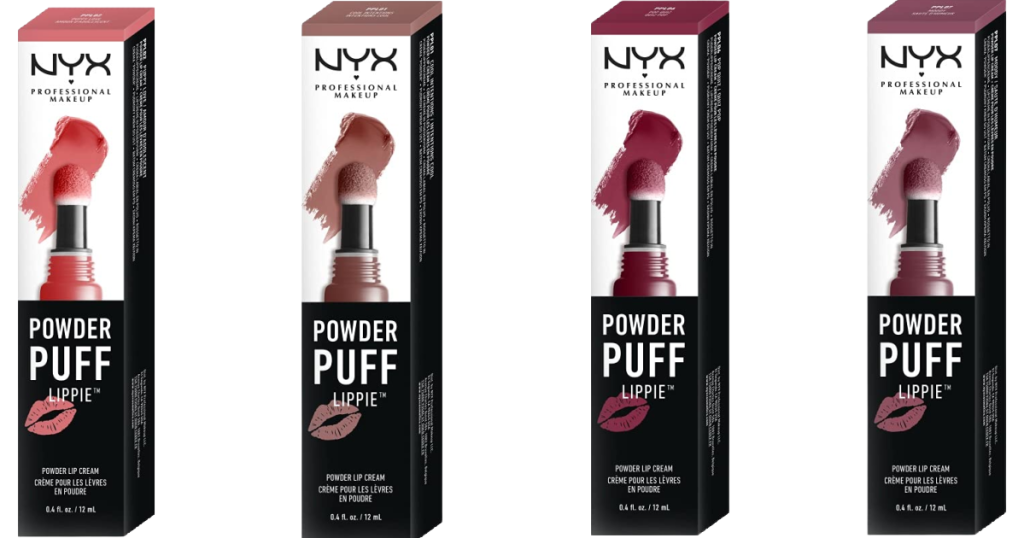 NYX Lippie Lip glosses in various colors