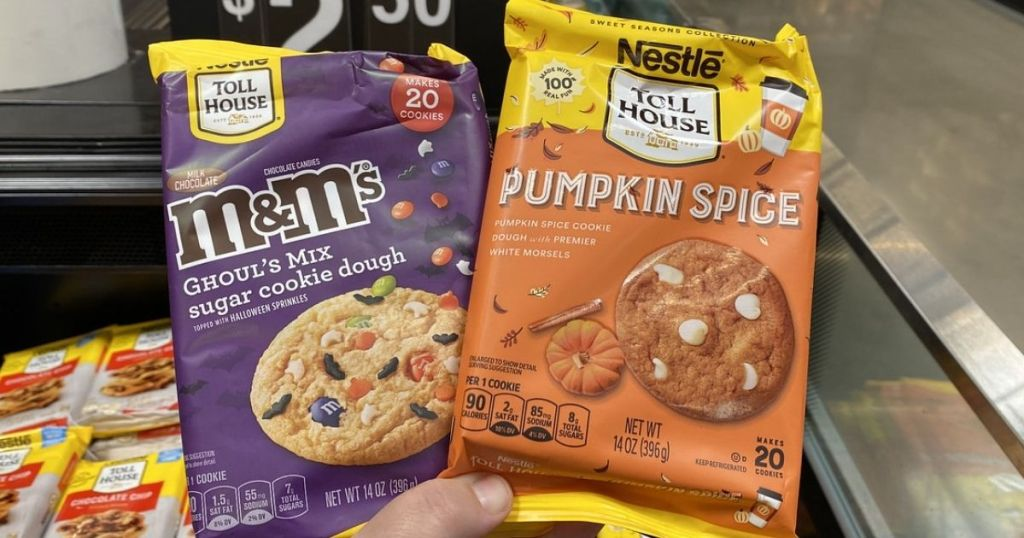 Nestle Toll House Fall Cookie Doughs
