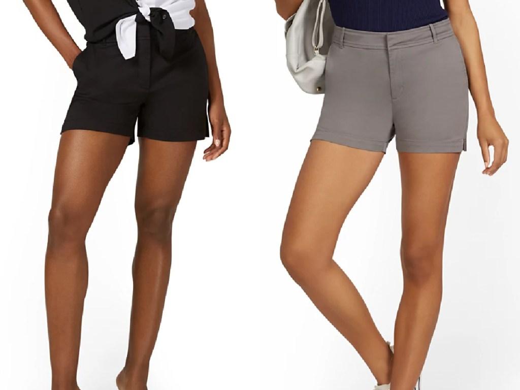 new york company women's shorts