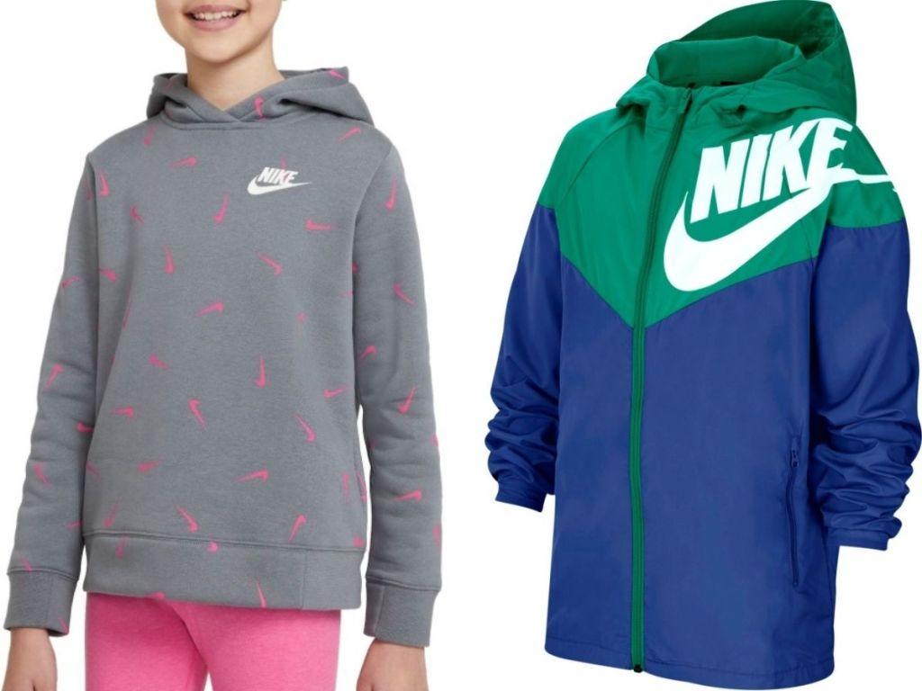 Nike Hoodie and Jacket