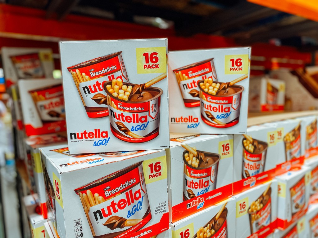 Nutella & Go Snacks