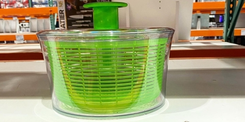OXO SoftWorks Salad Spinner Only $14.97 Shipped on Costco.com