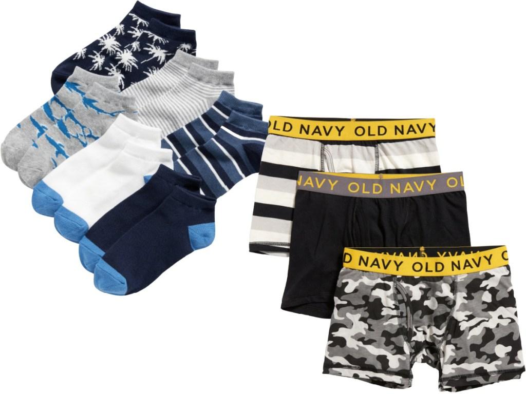 Old Navy Boys Socks and Underwear