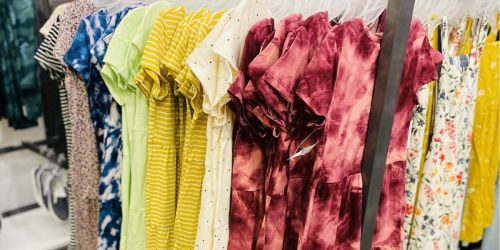 Old Navy Women's & Girls Dresses from $7.97 | Today Only