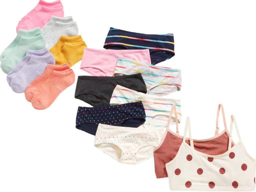 Old Navy Girls Socks and Underwear