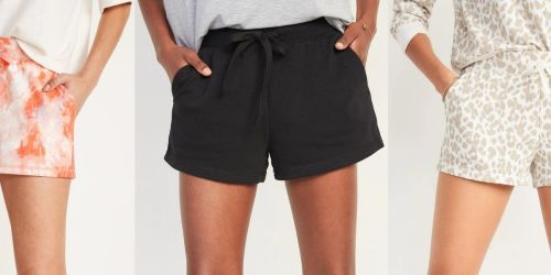Old Navy Women's Fleece Shorts from $9.97 (Regularly $20) | Cute & Comfy Styles