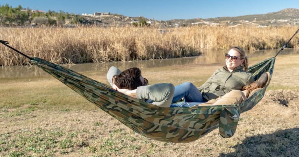 camo ozark trail hammock