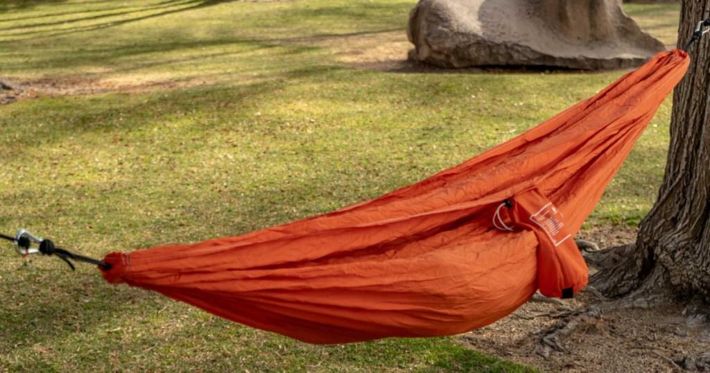 orange ozark trail hammock