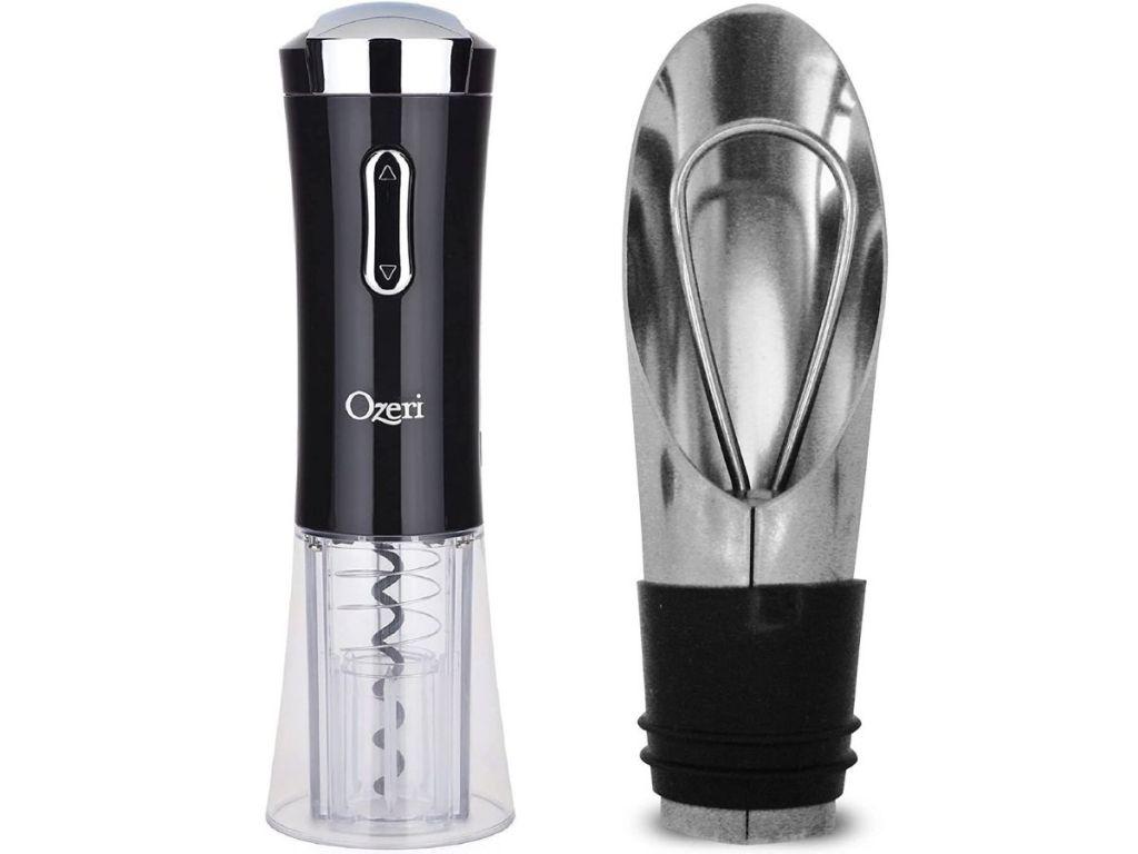 wine bottle opener and pourer