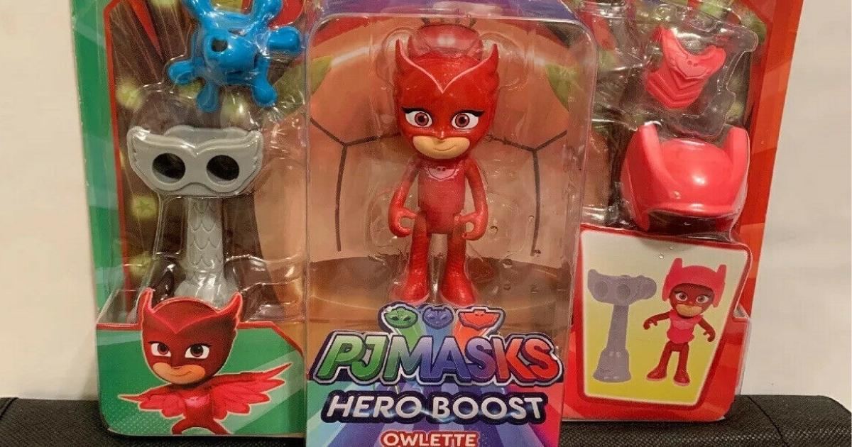 PJ Masks Hero Boost Owlette Figure Set