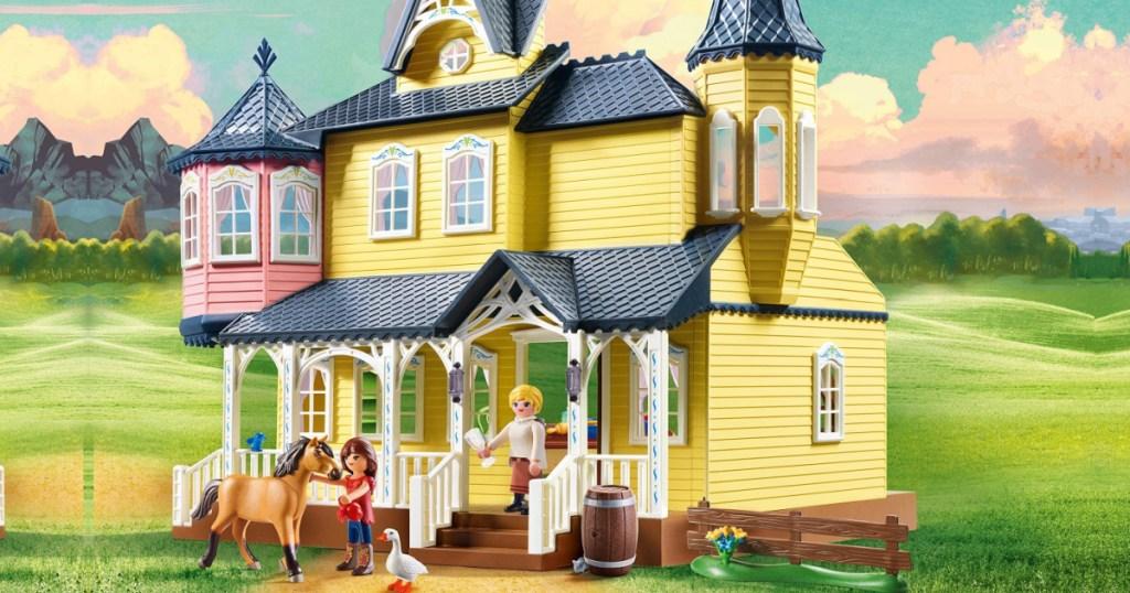 playmobil spirt lucky's house