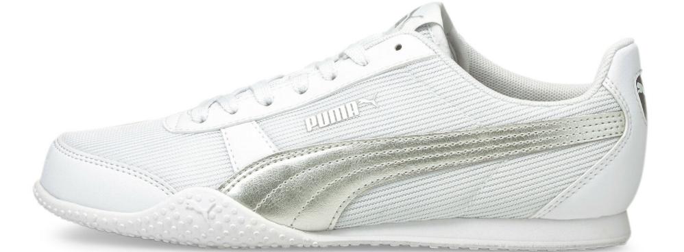 white PUMA sneaker
