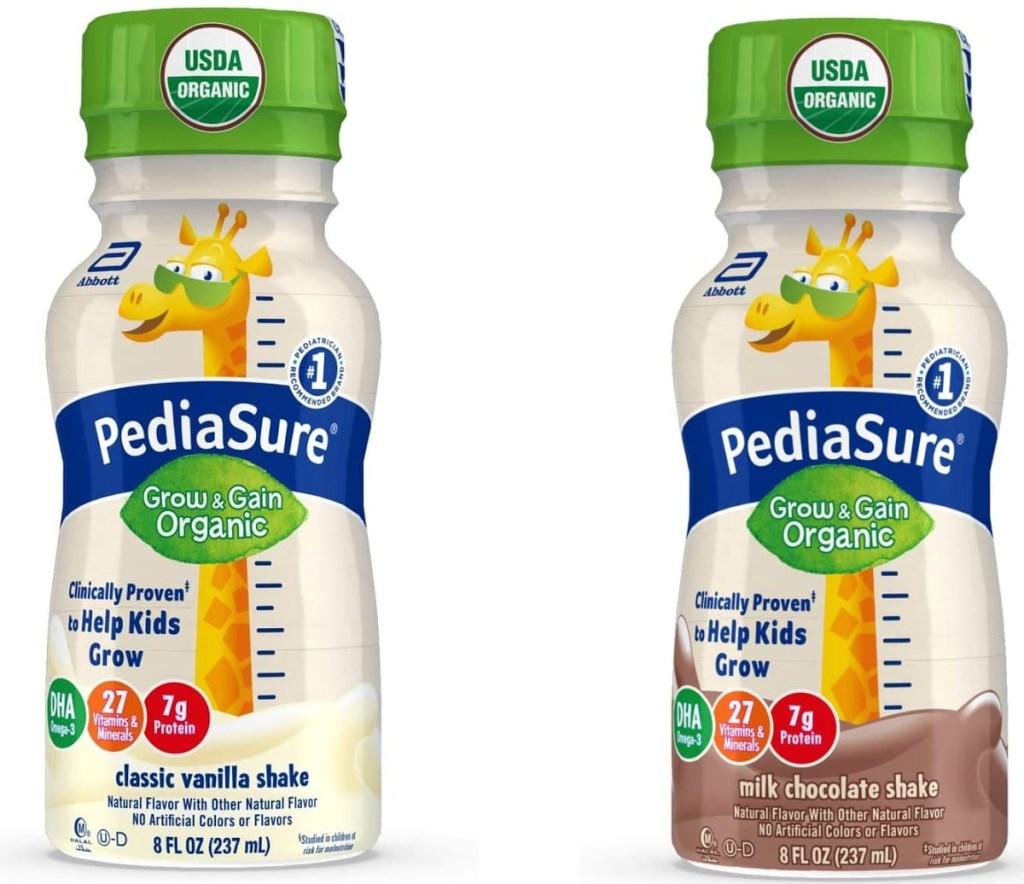 two kids organic shakes
