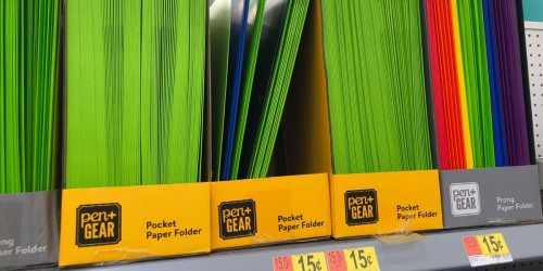 This Week's Best Walmart School Supply Deals   Folders Just 15¢, Markers, Crayons & Glue from 50¢ + More