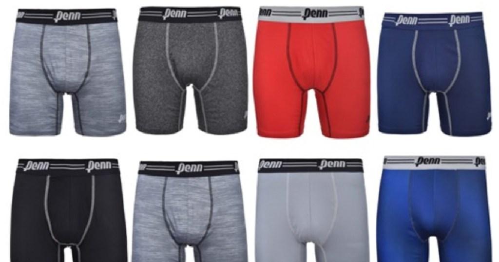 Penn Mens Performance Boxer Briefs 12 Pack-2