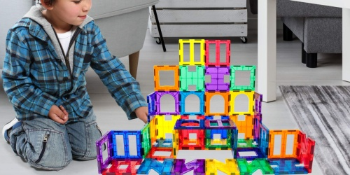 Picasso Tiles Magnetic Building Blocks 42-Piece Set Only $16.99 on Zulily (Regularly $70)