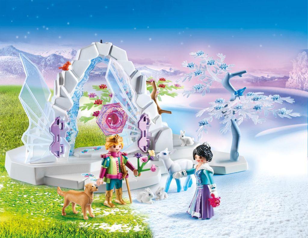 Playmobil Crystal Gate set