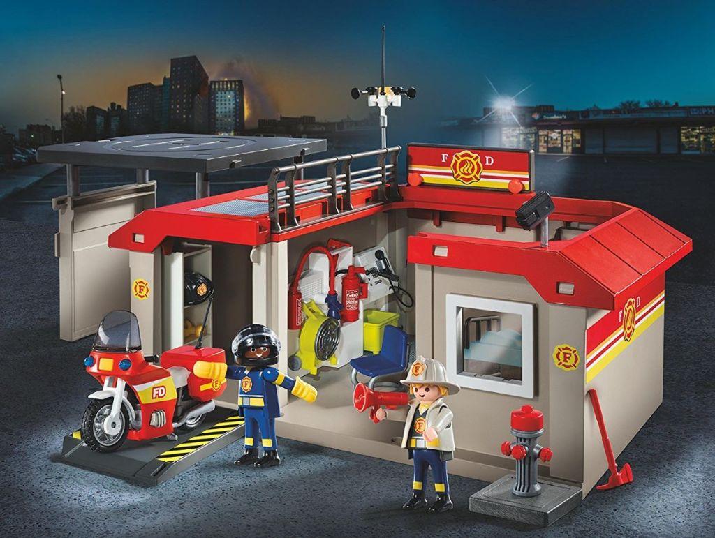 Playmobil Fire Station set