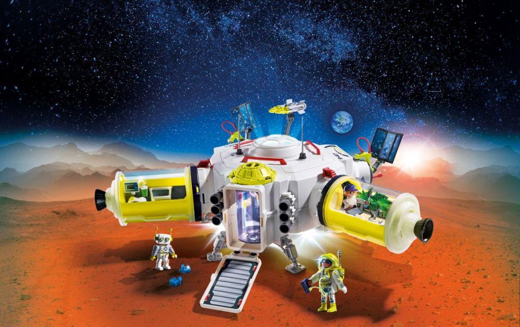 Playmobil Mars Space Station set