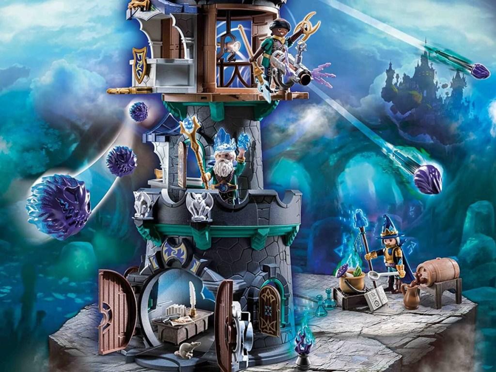 playmobil wizard tower set