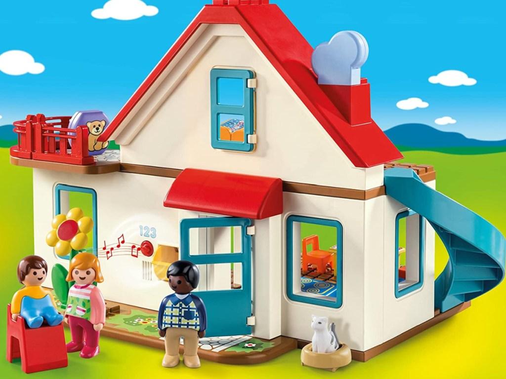 playmobil family home set