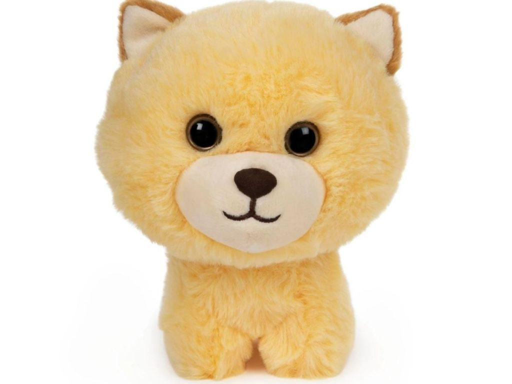 pomeranian puppy stuffed animal