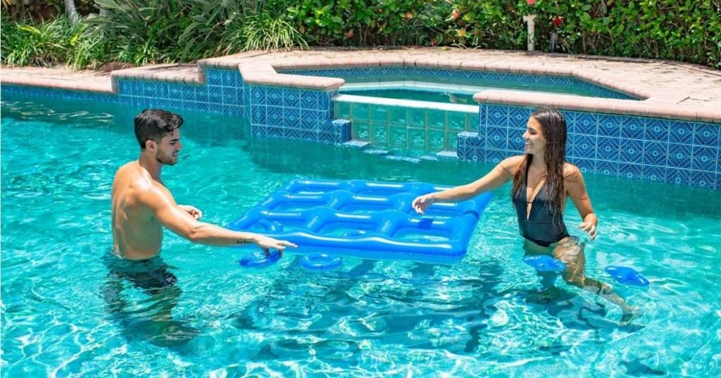 PoolCandy Giant Inflatable Tic Tac Toe